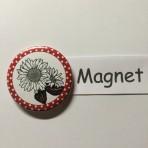 """Magnet """"Sonnenblume"""" geeignet für Magnetwand, hält 450 Gramm!"""