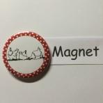 """Magnet """"Hühner"""" geeignet für Magnetwand, hält 450 Gramm!"""
