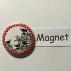"""Magnet """"Gämsrudel"""" geeignet für Magnetwand, hält 450 Gramm!"""