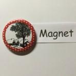 "Magnet ""Dörfli"" geeignet für Magnetwand, hält 450 Gramm!"
