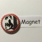 """Magnet """"Eichhörnchen"""" geeignet für Magnetwand, hält 450 Gramm!"""